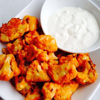 Crispy Cauliflower Buffalo Wings