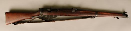 British Mk. III SMLE (Short Magazine Lee Enfiled) Rifle