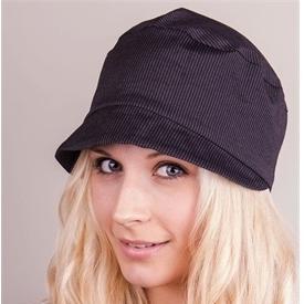 Pinstripe cadet hat