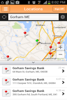 Screenshot of Gorham Savings Bank \ GSB