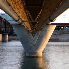 good morning tempe 3 by Joe Faherty - Buildings & Architecture Bridges & Suspended Structures