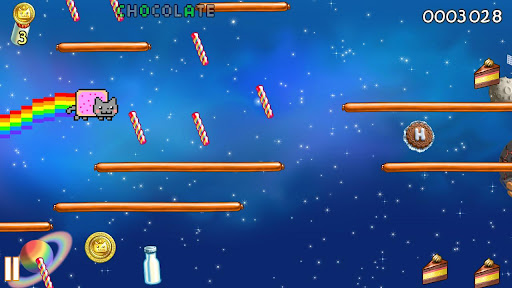 nyan-cat-lost-in-space for android screenshot