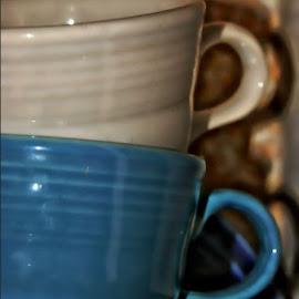 Fiesta by Rhonda Musgrove - Artistic Objects Cups, Plates & Utensils ( mug, cups, saucer, coffee, fiesta, hlc, china )