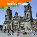 Mexico City Street Map icon