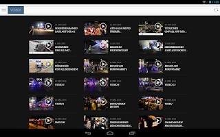 Screenshot of Volksfreund