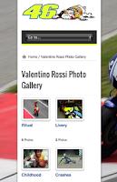 Screenshot of VALENTINO ROSSI - MOTOGP