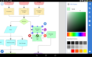 Screenshot of Grapholite Diagrams Demo