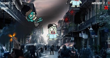 Screenshot of Zombie Shooting