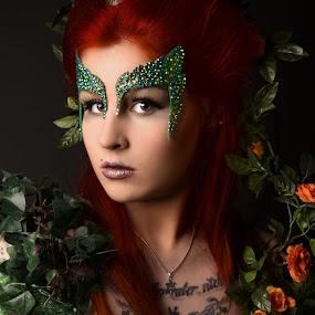 Poison Ivy by Tom Fensterseifer - People Portraits of Women ( poison ivy, make up, woman, batman, portrait,  )