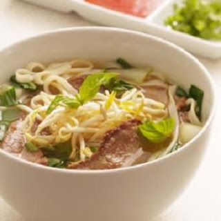 Asian Beef-Noodle Soup
