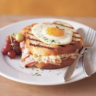 Pressed Croque Madame