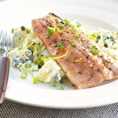 Trout With Creamy Potato Salad