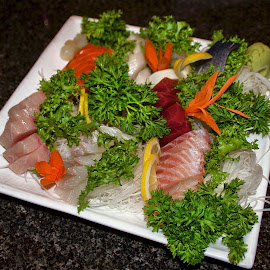 Sashimi by Richard Timothy Pyo - Food & Drink Plated Food
