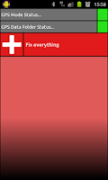 Screenshot of GPS Aids - DONATE