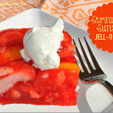 Strawberry Sunshine Jell-O Salad