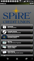 Screenshot of SPIRE Credit Union Mobile