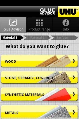 UHU Glue Advisor