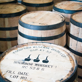 So Much Bourbon, So LIttle Time... by Jebark Fineartphotography - Food & Drink Alcohol & Drinks ( bourbon, whiskey, historical, barrel, kentucky, distillery )