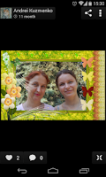 Screenshot of Vacation PhotoFrames