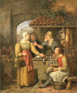 RIJKS: Willem Jodocus Mattheus Engelberts: painting 1830