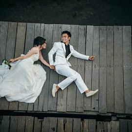 Going to a New Wolrd by Edy Mariyasa - Wedding Bride & Groom ( #wedding #bali )