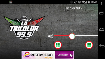 Screenshot of La Tricolor 99.9