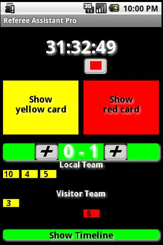 Referee Assistant Pro