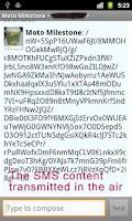 Screenshot of OtrSMS - Encrypted SMS