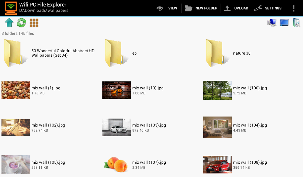 WiFi PC File Explorer Pro Screenshot 11