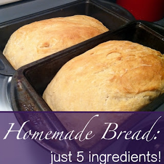 An Easy Homemade Bread Recipe--Just Five Ingredients!