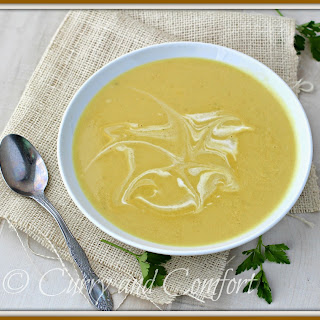 Curried Cream of Cauliflower Soup
