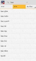 Screenshot of Thai<>Vietnamese Dictionary TR