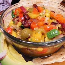 Heather's Tropical Bean Salsa