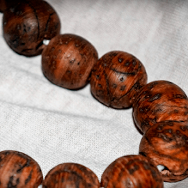 WOODEN BEAD BRACELET by Ritesh RoyChowdhury - Artistic Objects Clothing & Accessories ( wood, still life, artistic, beads )
