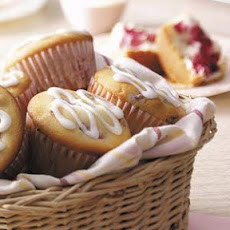 Cream Cheese Raspberry Muffins