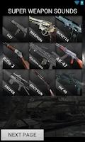 Screenshot of Super Weapon Sounds