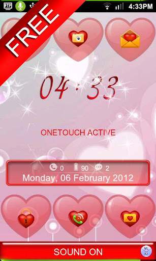 ml-hearts-free-magiclocker for android screenshot