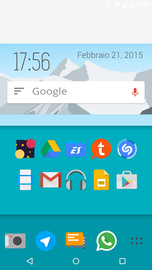 Iride UI - Icon Pack Screenshot 1