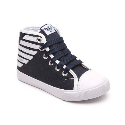Armani Branded High Top Trainer HI-TOP