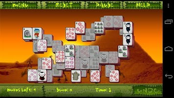 Screenshot of Mahjong Undead