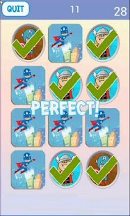 Super Hero Matching Game APK for Bluestacks