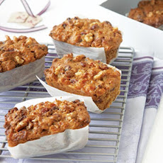 Cranberry, Apricot & Walnut Fruitcake