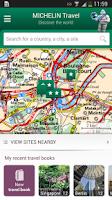 Screenshot of Michelin Travel