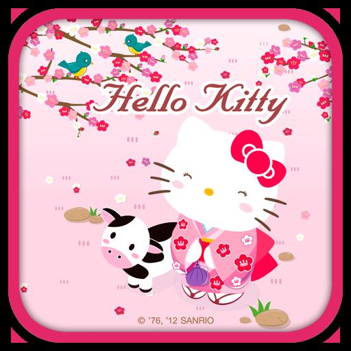 Hello Kitty Live Wallpaper 2 個人化 App LOGO-APP試玩
