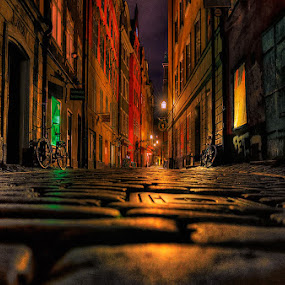 by John Aavitsland - City,  Street & Park  Night ( stocholm )