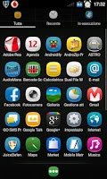 Screenshot of Belle Theme for GO Launcher EX