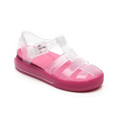 Dolce & Gabbana Branded Jelly Sandal SHOE