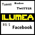 ILUMEA: Twitter, Facebook, ... icon