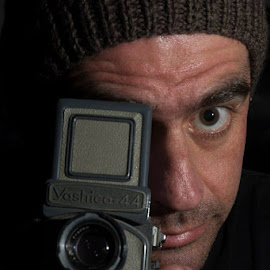I am a Photographer by Tim Searle - People Portraits of Men ( yashica, photographer, self portrait, portrait )