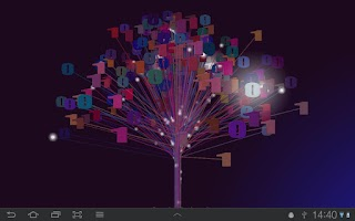Screenshot of Binary Tree Live Wallpaper